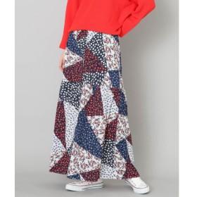 [マルイ]【セール】レディススカート(パッチワークフラワープリントロングスカート)/センスオブプレイスバイアーバンリサーチ(レディース)(SENSE OF PLACE)