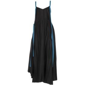 《セール開催中》LOEWE レディース ロングワンピース&ドレス ブラック 34 レーヨン 85% / ウール 12% / コットン 3% / ポリエステル