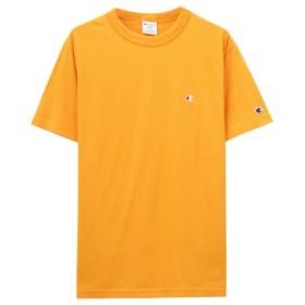 (MAC HOUSE/マックハウス)Champion チャンピオン プリントTシャツ C3-P300/メンズ イエロー