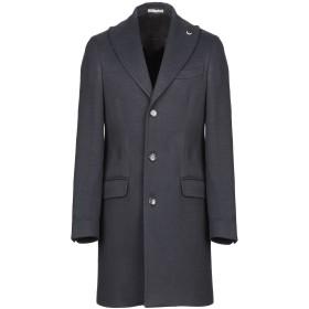 《期間限定 セール開催中》FABIO BALDAN メンズ コート ダークブルー 48 ウール 50% / ポリエステル 42% / レーヨン 8%