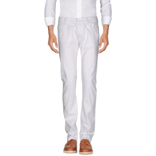 《期間限定セール開催中!》ARMANI JEANS メンズ パンツ ホワイト 38 コットン 96% / ポリウレタン 4%