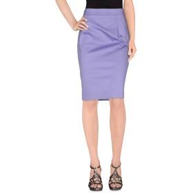 《セール開催中》LES COPAINS レディース ひざ丈スカート ライラック 42 コットン 98% / ポリウレタン 2%