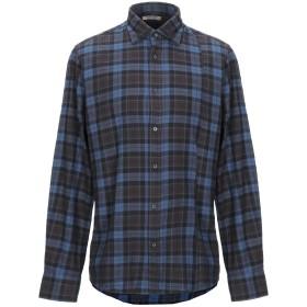 《セール開催中》GUESS BY MARCIANO メンズ シャツ ダークブルー M コットン 100%