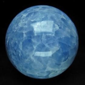 2.5Kg ブルーカルサイト 丸玉 スフィア 125mm [送料無料] 161-143