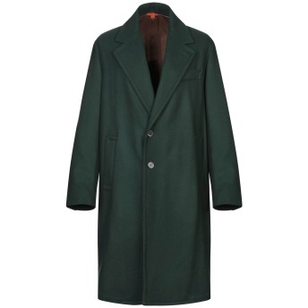 《9/20まで! 限定セール開催中》BARENA メンズ コート ダークグリーン 52 ウール 80% / ナイロン 20%