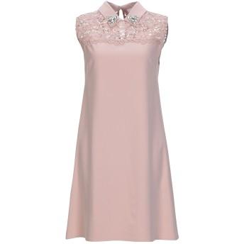 《セール開催中》BLUGIRL BLUMARINE レディース ミニワンピース&ドレス ローズピンク 42 ポリエステル 95% / ポリウレタン 5% / レーヨン / コットン / ナイロン