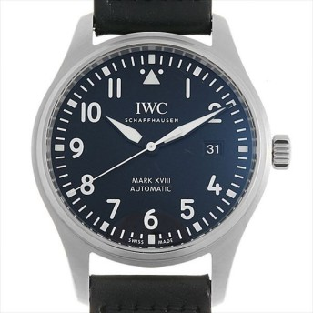 48回払いまで無金利 IWC パイロットウォッチ マーク18 IW327001 中古 メンズ 腕時計 キャッシュレス5%還元