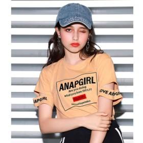 [マルイ]【セール】ボックス刺繍袖カットトップス/アナップキッズ&ガール(ANAP KIDS&GIRL)