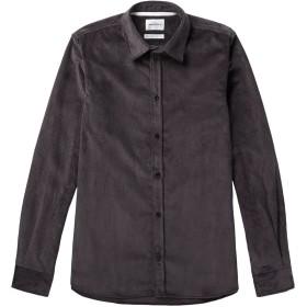《期間限定セール開催中!》NORSE PROJECTS メンズ シャツ スチールグレー XS コットン 100%
