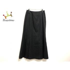 スキャパ Scapa ロングスカート サイズ38 L レディース 美品 ダークグレー   スペシャル特価 20190910