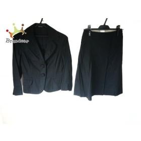 コムサデモード COMME CA DU MODE スカートスーツ サイズ9 M レディース 新品同様 黒 新着 20190606