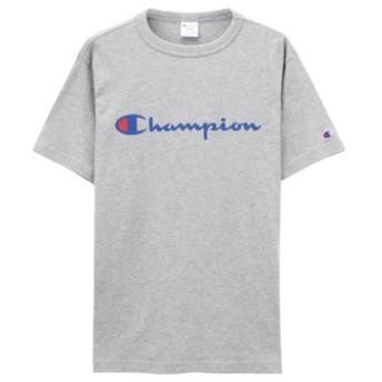(MAC HOUSE/マックハウス)Champion チャンピオン プリントTシャツ C3-P302/メンズ グレー