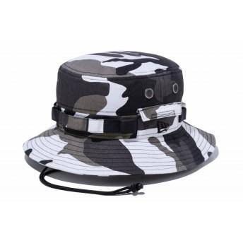 NEW ERA ニューエラ アドベンチャー カモ アーバンカモ サファリハット アドベンチャーハット アウトドア トレッキング ハット 帽子 メンズ レディース M/L (59cm) 11901156 NEWERA
