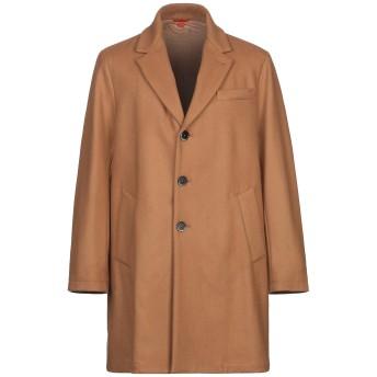 《9/20まで! 限定セール開催中》BARENA メンズ コート キャメル 48 ウール 80% / ナイロン 20%