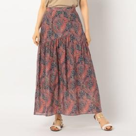 [マルイ]【セール】[新色追加]LIBERTY PRINT切り替えギャザースカート/ノーリーズ レディース(NOLLEY'S)