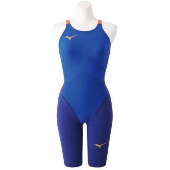 MIZUNO SHOP [ミズノ公式オンラインショップ] 競泳用GX・SONIC IV MR ハーフスーツ[ジュニア] 27 ブルー N2MG9202_j