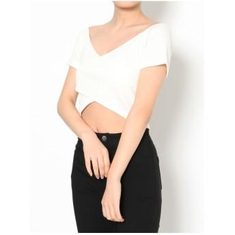 RESEXXY 2WAYリブTシャツ ホワイト