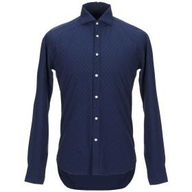 《期間限定セール開催中!》GMF 965 メンズ シャツ ブルー 43 コットン 100%