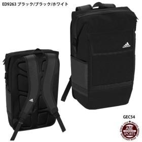 【アディダス】COMMUTERスクエアバックパック かばん/スポーツバッグ/adidas (GEC54)ED9263 ブラック/ブラック/ホワイト