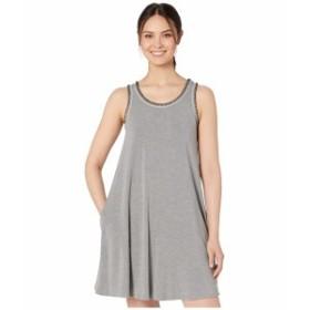 ライフイズグッド レディース ワンピース トップス Trapeze Pocket Dress Heather Gray