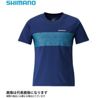 Tシャツ(半袖) ネイビー S SH-096S シマノ