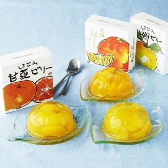 【婦人画報】愛媛の柑橘ゼリー3種味くらべ 6個入り