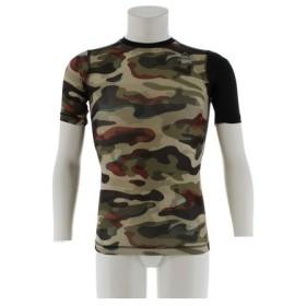 リーボック(REEBOK) ワンシリーズ アクティブチルコンプレッション カモグラフィック 半袖Tシャツ DMO41-BR9566 (Men's)