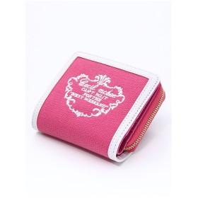 CECIL McBEE ロゴ刺繍ミニウォレット ピンク