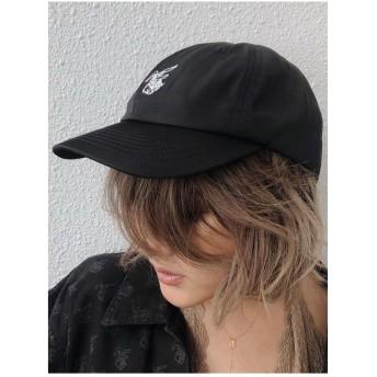 ジェイダ GYDA paparazzibunnyナイロンCAP (ブラック)