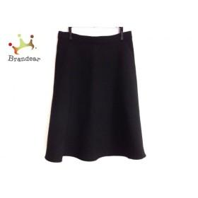 ニジュウサンク 23区 スカート サイズ38 M レディース 美品 黒 リバーシブル   スペシャル特価 20190917
