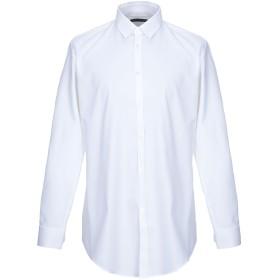 《期間限定 セール開催中》DANIELE ALESSANDRINI メンズ シャツ ホワイト 38 コットン 100%