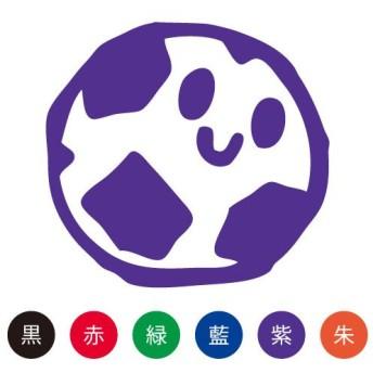 スマイルスタンプ かわいいネーム6 おけいこ【サッカー】No.036 (イラストのみ)