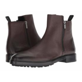 ヒューゴボス メンズ ブーツ&レインブーツ シューズ Boheme Zip Casual Boot by HUGO Dark Brown