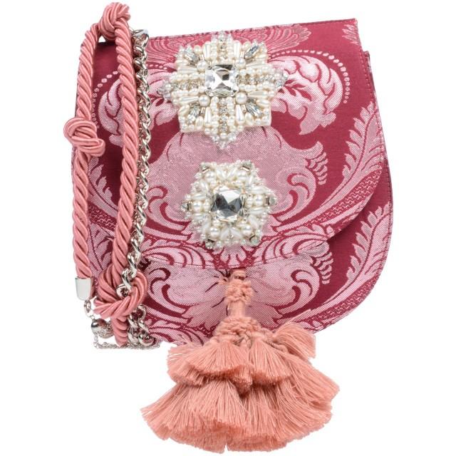 《期間限定セール開催中!》CHRISTIAN PELLIZZARI レディース メッセンジャーバッグ ボルドー 紡績繊維