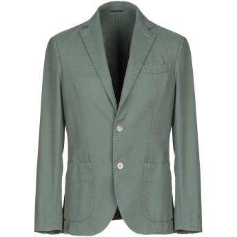 《期間限定セール開催中!》AT.P.CO メンズ テーラードジャケット グリーン 48 コットン 100%