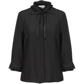 《セール開催中》VICOLO レディース シャツ ブラック S ポリエステル 100%