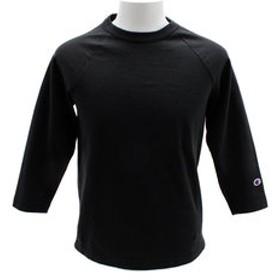 【Super Sports XEBIO & mall店:トップス】ラグラン3/4スリーブ Tシャツ C5-P404 090