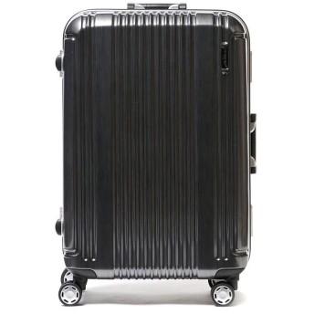ギャレリア バーマス スーツケース BERMAS バーマス プレステージ2 PRESTIGEII キャリーケース フレーム 52L 4輪 ハード 60265 メンズ ブラック F 【GALLERIA】