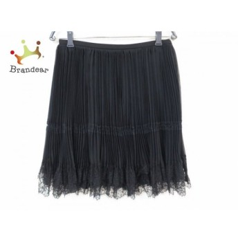 ザシークレットクローゼット スカート サイズ2 M レディース 美品 黒 プリーツ スペシャル特価 20190902