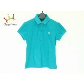 バーバリーゴルフ BURBERRYGOLF 半袖ポロシャツ サイズ1 S レディース グリーン   スペシャル特価 20190905