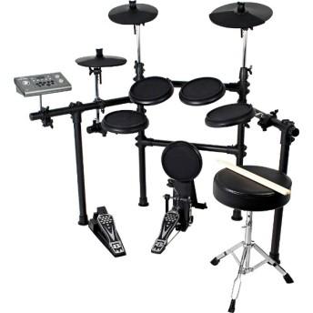電子ドラム(ドラムスティック/ドラムイス付き) DD-504J-DIY KIT/BK ブラック