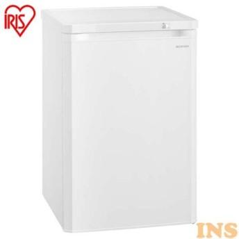 冷凍庫 小型 85L アイリスオーヤマ 前開き ノンフロン冷凍庫 ホワイト IUSD-9A-W