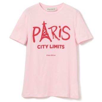 SALE【エポカ ザ ショップ(EPOCA THE SHOP)】 【etre cecile】PARIS CITY Tシャツ ピンク