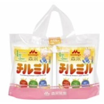◆森永 チルミル 大缶2缶パック 820gX2