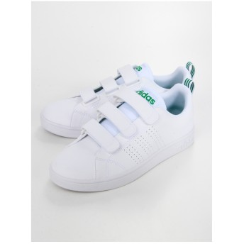 Sneakers Selection VALCLEAN2CMF/スニーカー(ランニングホワイト/ランニングホワイト/グリーン) ランニングホワイト/ランニングホワイト/グリーン