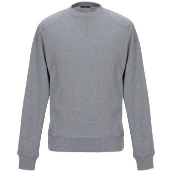 《期間限定セール開催中!》BELSTAFF メンズ スウェットシャツ グレー M コットン 100%