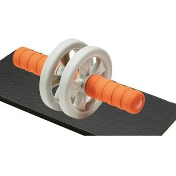 エレコム 筋トレ 器具 腹筋ローラー ショート 初心者向け エクリアスポーツ HCF-ARSDR 代引不可