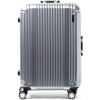ギャレリア バーマス スーツケース BERMAS バーマス プレステージ2 PRESTIGEII キャリーケース フレーム 52L 4輪 ハード 60265 メンズ シルバー F 【GALLERIA】