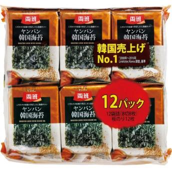 韓国海苔 (12袋入)