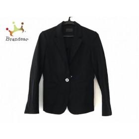 ユニバーサルランゲージ UNIVERSAL LANGUAGE ジャケット サイズ38 M レディース 美品 黒   スペシャル特価 20190904